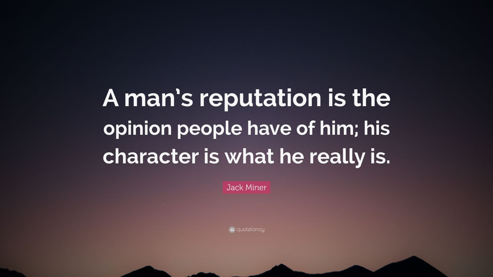 Jack Milner quote