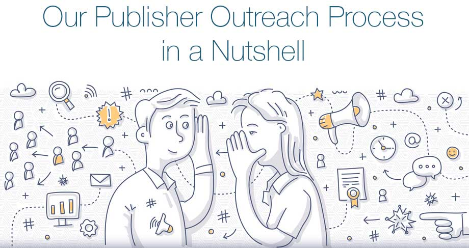 the publisher outreach process for link building