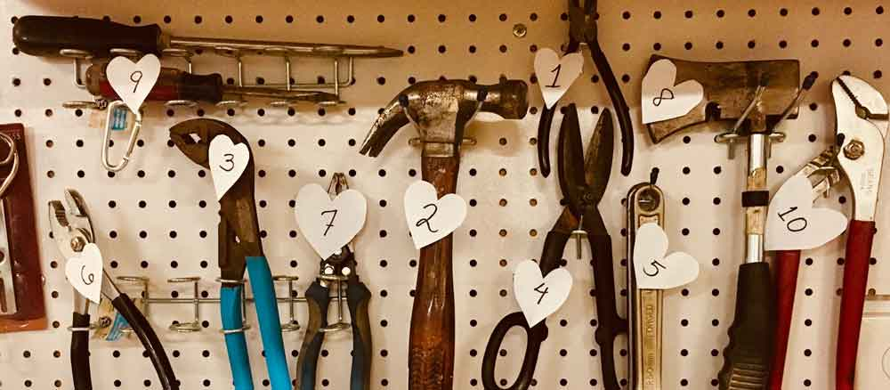 Tools photo by Kim Stiver