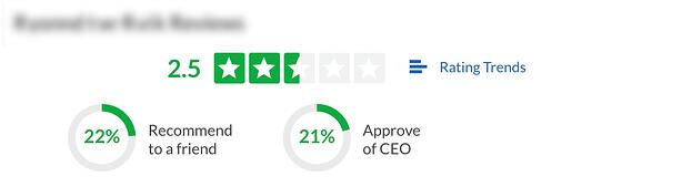 glassdoor review image