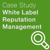 white label reputation management icon