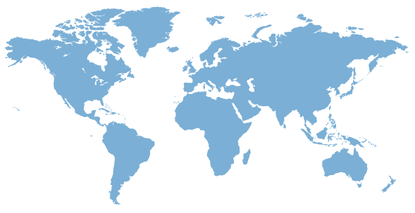 world map for wikipedia localization